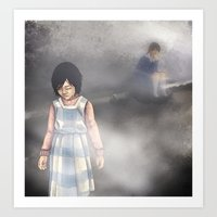 silent hill Art Prints featuring Duality - Silent Hill by JeyJey Artworks