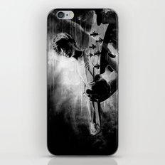 The GUITAR GOD - black version iPhone & iPod Skin