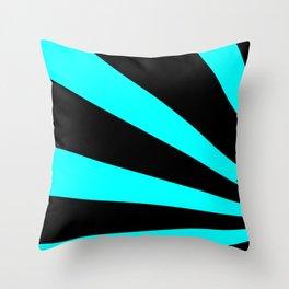 Rising DJ Red Throw Pillow