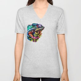Caught in the Act Unisex V-Neck