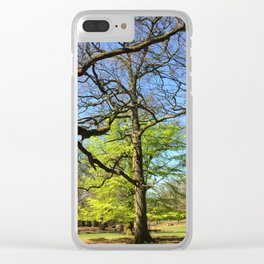Spring In An English Park Clear iPhone Case