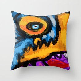 Speed and fury Throw Pillow