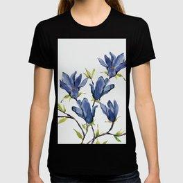 Blue Flowers 3 T-shirt