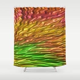 Squalling Harpoon Fractal Design 10 Shower Curtain
