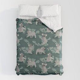 Koala Eucalyptus Hunt Comforters