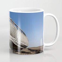 Beached Boat Coffee Mug