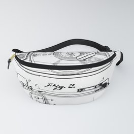 Turntable Patent Fanny Pack