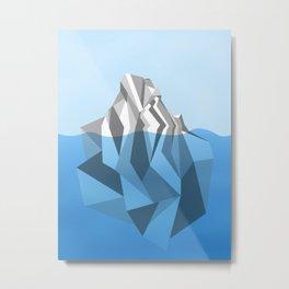 ANTARCTIC ICEBERG Metal Print
