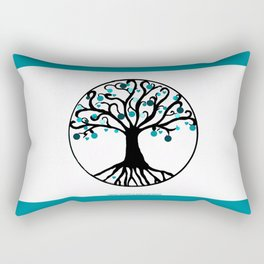 """Tree of Life"",Artistic hand drawing, with Graphic Artwork,Throw Pillow,Duvet Cover,Bed spread,Frame Rectangular Pillow"