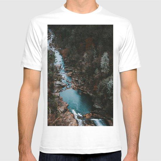 Blue Creek #landscape #society6 T-shirt