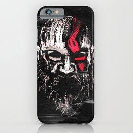 Kratos the God of war iPhone Case