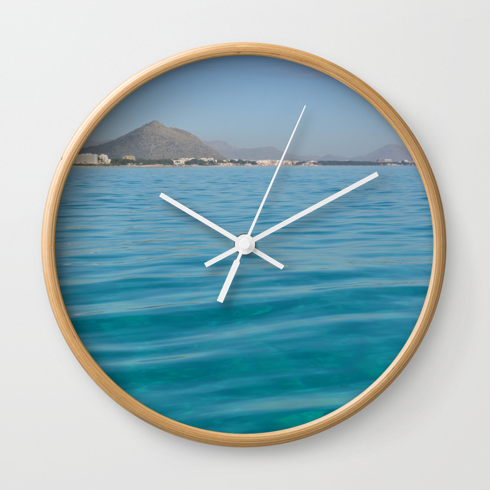 Travel Destination In Holidays It The Best For Cha... Wall Clock by Darwindsbfromnewyork