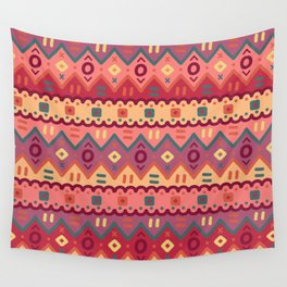 Ethnic native pattern Wall Tapestry