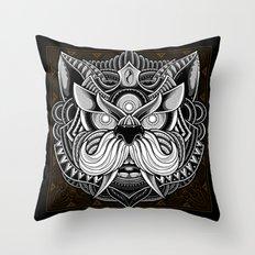 Javanese Ornate Dog Throw Pillow