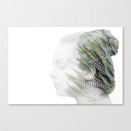 Succulent Reach Canvas Print