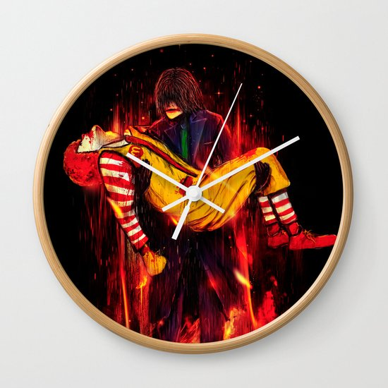 This Is Not a Joke! Wall Clock