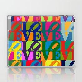 Love Pop Art Laptop & iPad Skin