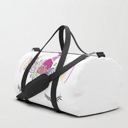 Sleepy Unicorn Duffle Bag