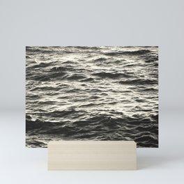 Black Waves Mini Art Print