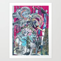 chinese Art Prints featuring Chinese by Lakeca