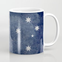 The National flag of Australia, Vintage version Coffee Mug