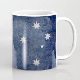 The National flag of Australia, Vintage version Coffee Mug