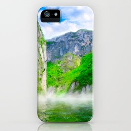 Morning Mists Inside Sumidero Canyon - Chiapas Mexico iPhone Case