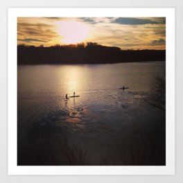 Potomac River Art Print