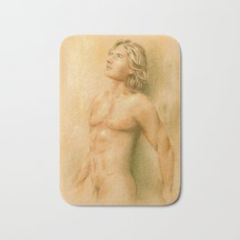 Adonis - Male Nude Bath Mat