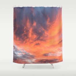 Phoenix Reborn Shower Curtain