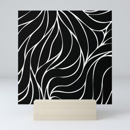 Abstract wave pattern Mini Art Print