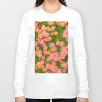 blanket Long Sleeve T-shirts featuring Daisy Blanket by Kaitlynn Lewis