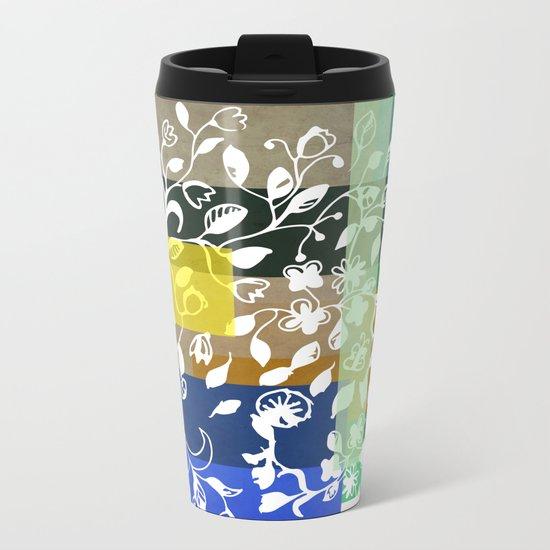 Unconventional lace Metal Travel Mug