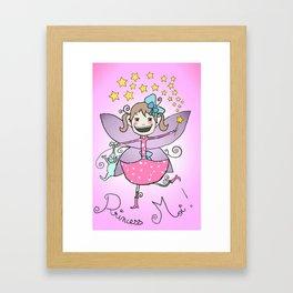 Princess Moi! Framed Art Print