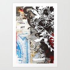 Funky Wall Art Print