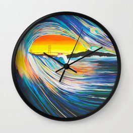 To the Gate Wall Clock