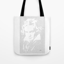 Binary composition Tote Bag