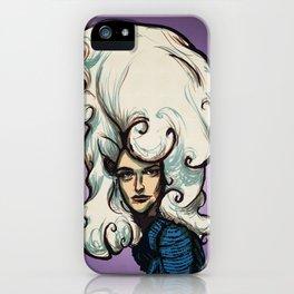 Marshmallow Hair iPhone Case