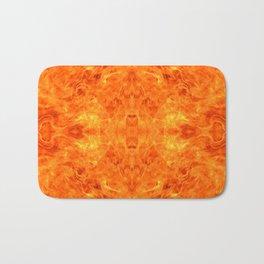 flame pattern Bath Mat