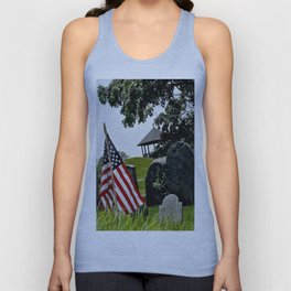 Old Burial Hill, Marblehead, MA Unisex Tank Top