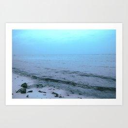 El mar Art Print
