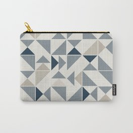 Abstract Geometric Triangle Pattern Carry-All Pouch