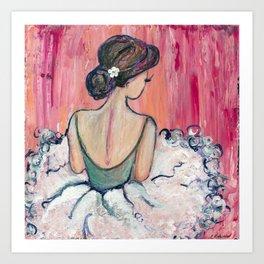"""""""Quiet Moment"""" ~ 2015 Art Print"""