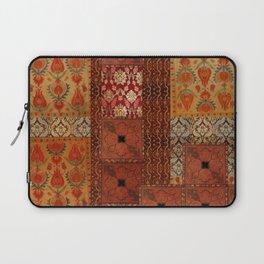 Vintage textile patches Laptop Sleeve
