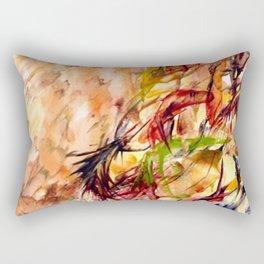 Autumnal Dialog Rectangular Pillow