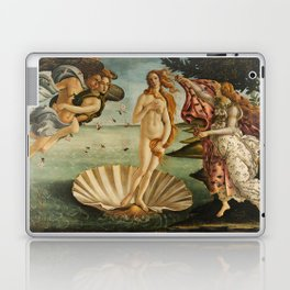 The Birth of Venus - Nascita di Venere by Sandro Botticelli Laptop & iPad Skin