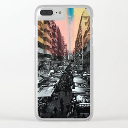 One night in Hong Kong Clear iPhone Case