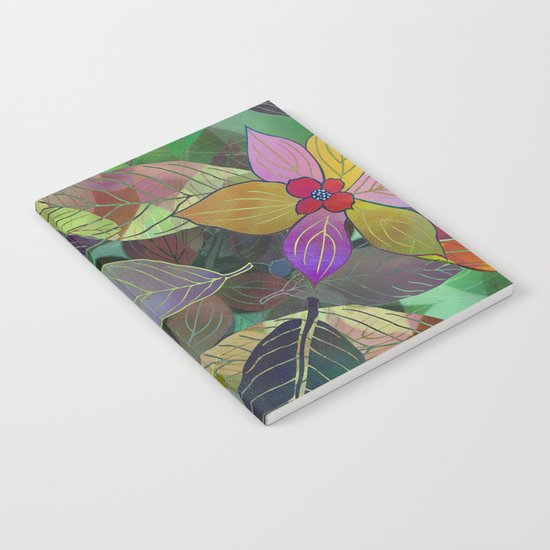 Floral Pattern 7 Notebook