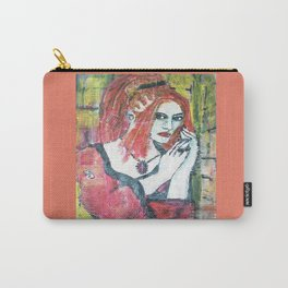 RED HOT GOTH CHICK Carry-All Pouch