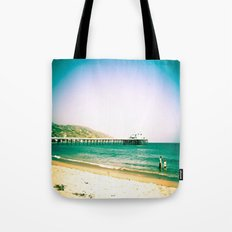 Hangin' Out In Malibu Tote Bag